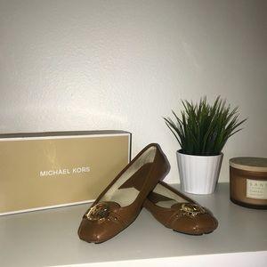 Michael Kors leather Flats